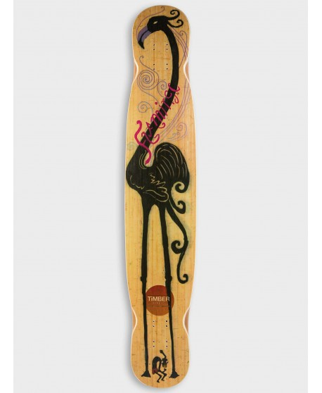 Longboard Timber Flamingo