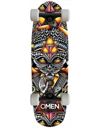 "Longboard Omen Grey Spirit 33"" (Completo)"