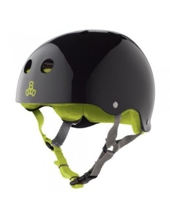Casco Triple Eight Brainsaver Black Gloss