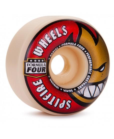 Ruedas Skateboard Spitfire F4 Radials 56mm 101a