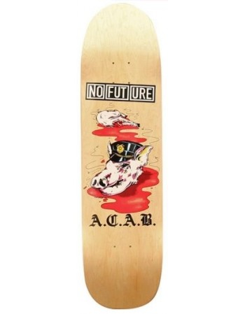 "Skateboard NO FUTURE A.C.A.B 8,5"" (solo tabla)"