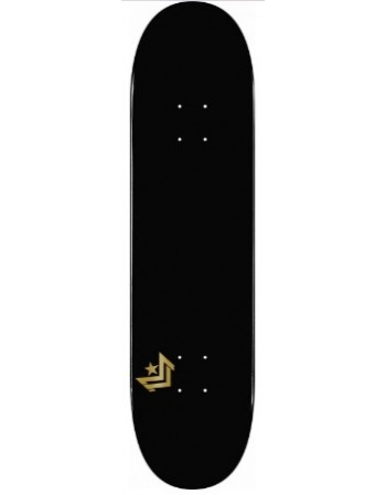 "Skateboard MiniLogo Chevron Black 8,5"" (solo tabla)"