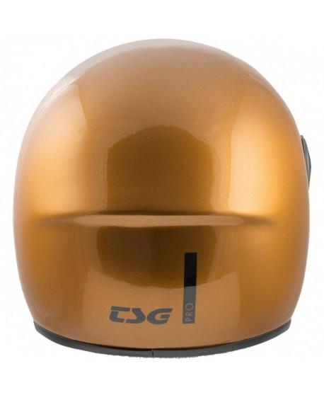Casco TSG Pass Pro Fullface Dorado