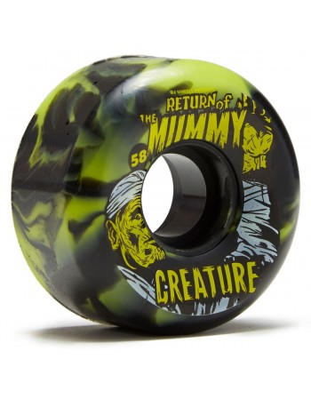Ruedas Skateboard Oj Wheels Creature Return of the Mummy (Set 4)