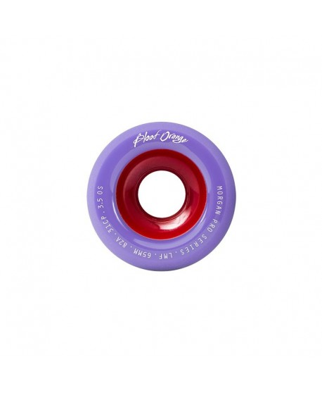 Ruedas Longboard Blood Orange Morgan Pro Pastel 82a 65mm