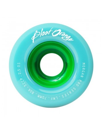 Ruedas Longboard Blood Orange Morgan Pro Pastel 80a 65mm