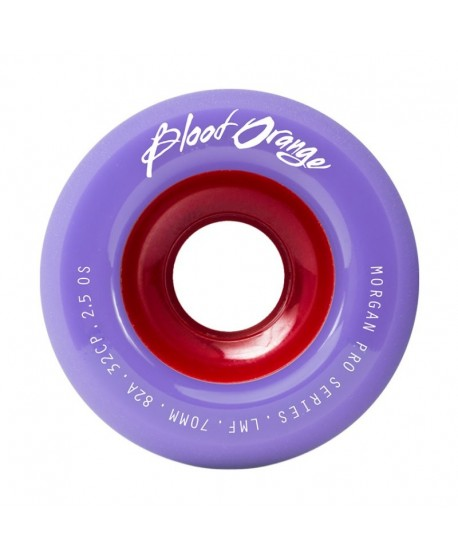 Ruedas Longboard Blood Orange Morgan Pro Pastel 82a 70mm