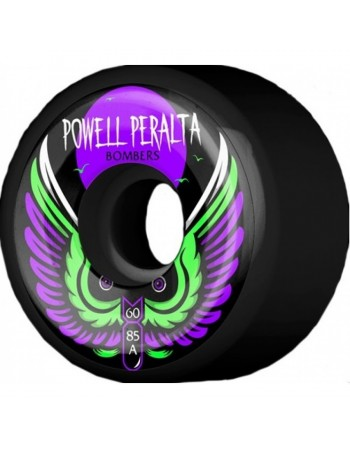 Powell Peralta Wheels Bomber III Negras (Set 4)