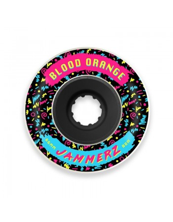 Ruedas Longboard Blood Orange Jammerz 66mm 82a