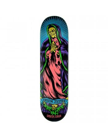 "Skateboard Santa Cruz Jessee Bone Guadalupe Neon 8,5""  (Solo Tabla)"