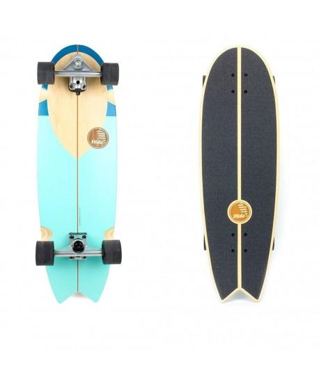 """Surfskate Slide Nose Rider 33"""" (Completo)"""
