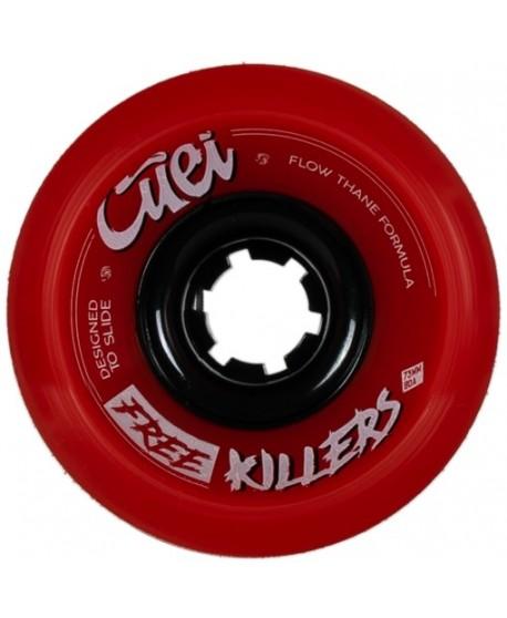 Ruedas Longboard Free Killers 73mm 80a