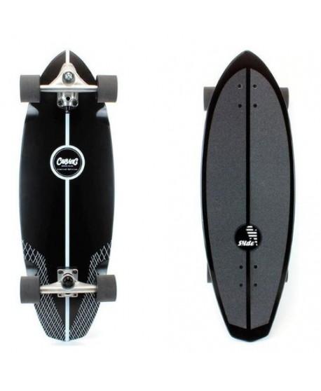 """Surfskate Black Diamond 32"""" CSC Colab Edición Limitada (Completo)"""