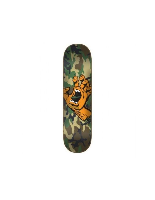Skateboard Santa Cruz Hand Camo Wide Tip 8.25 (solo tabla)