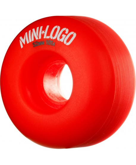 Ruedas Skateboard Mini Logo C-cut 53mm 101a Rojas (set 4)