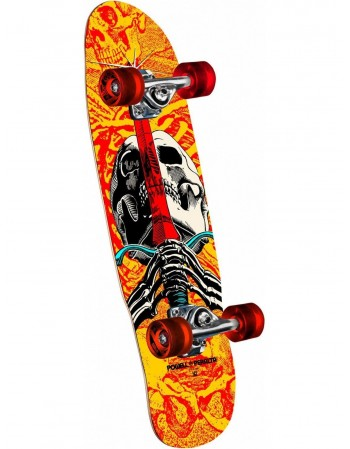 "Skateboard Powell Peralta Mini Skull & Sword 8"" (Completo)"