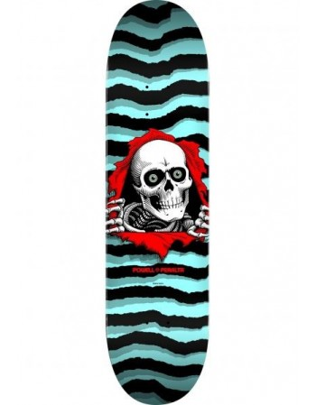 "Skateboard Powell Peralta Ripper Pastel Blue 8.5"" (solo tabla)"