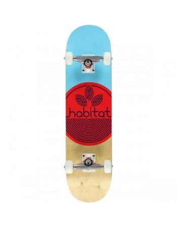 """Skateboard Habitat Leaf Dot 8.125"""" (Completo)"""