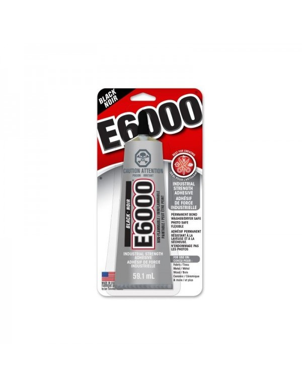 Pegamento Shoe Goo E6000 Craft Glue Black (59.1ml)