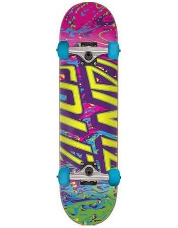 """Skateboard Santa Cruz Spill Dot 8"""" (Completo)"""