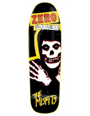 "Skateboard Zero Skateboards Misfits Business 9,5"" (Solo Tabla)"