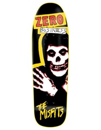 "Skateboard Zero Skateboards Misfits Business 9,5"" (Solo Tabla)"