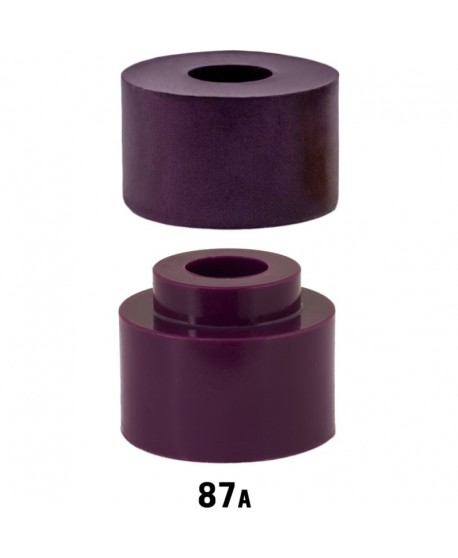 Venom Bushings Caliber Plugs + Insert 87a Morado (set 2)