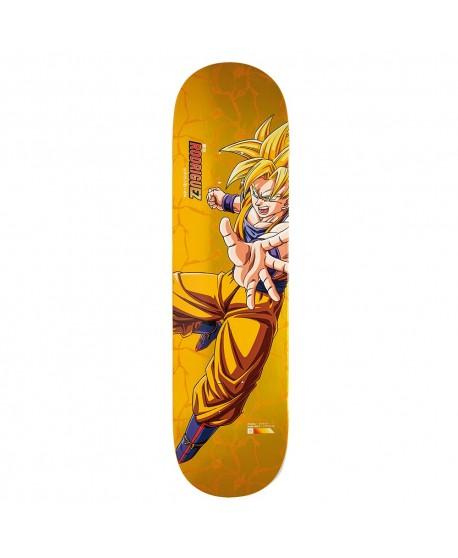"Skateboard Primitive Dragon Ball Z Paul Rodriguez Super Saiyan Goku 8,5"" (solo tabla)"