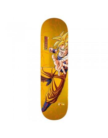 "Skateboard Primitive Dragon Ball Z Paul Rodriguez Super Saiyan Goku 8,0"" (solo tabla)"