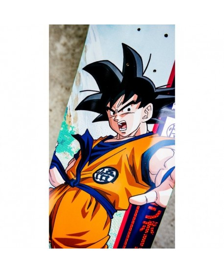 "Skateboard Primitive Dragon Ball Z Rodriguez Goku 8.5"" (solo tabla)"