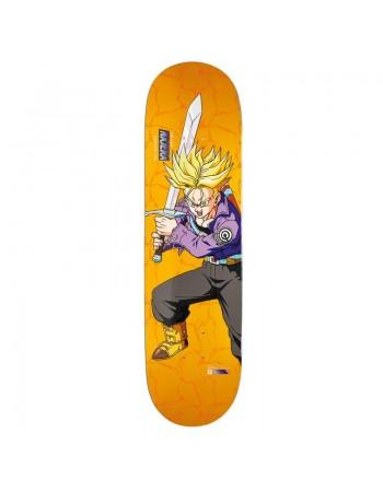 """Skateboard Primitive Dragon Ball Z Najera SS Trunks 8.125"""" (solo tabla)"""