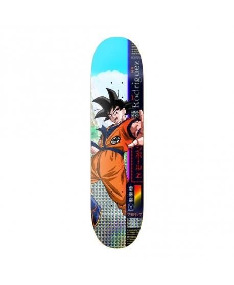 """Skateboard Primitive Dragon Ball Z Rodriguez Goku 8.5"""" (COMPLETO)"""