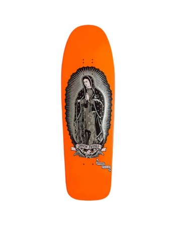 "Skateboard Santa Cruz Jessee Guadalupe Neon Orange 9,8"" (Solo Tabla)"