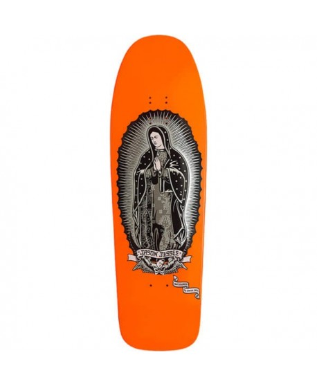 "Skateboard Santa Cruz Jessee Guadalupe Neon Orange Re-Issue 9,8"" (Solo Tabla)"