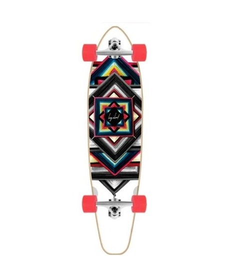 "Longboard Long Island Navajo Essential Pintail 40"" (Completo)"