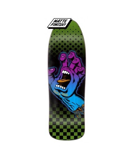 "Skateboard Santa Cruz Aura Hand Preissue 9,35"" (Solo tabla)"