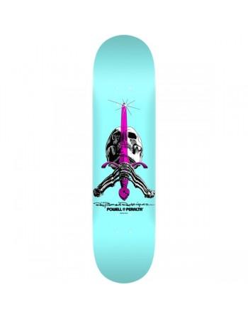 "Skateboard Powell Peralta Skull & Sword 9"" Pastel Blue(Solo Tabla)"