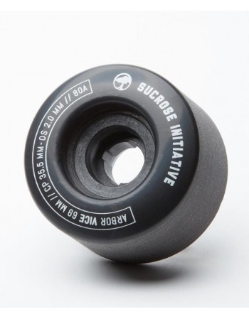 Arbor Vice 69mm Wheels Negras