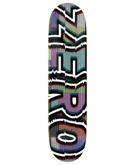 "Skateboard Zero Bold Glitch 8,2"" (Solo Tabla)"