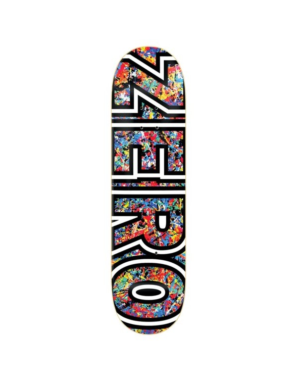 "Skateboard Zero Brockman Splatter 8,5"" (Solo Tabla)"