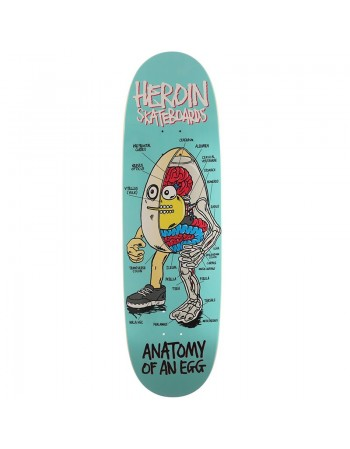 "Skateboard Heroin Anatomy Of An Egg 9,4"" (solo tabla)"