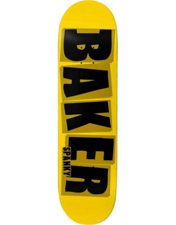 """Skateboard Baker Brand Logo Yellow 8,2"""""""