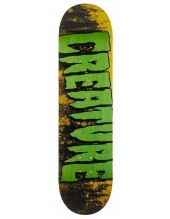 "Skateboard Creature Logo Wash MD 8,25"" (solo tabla)"