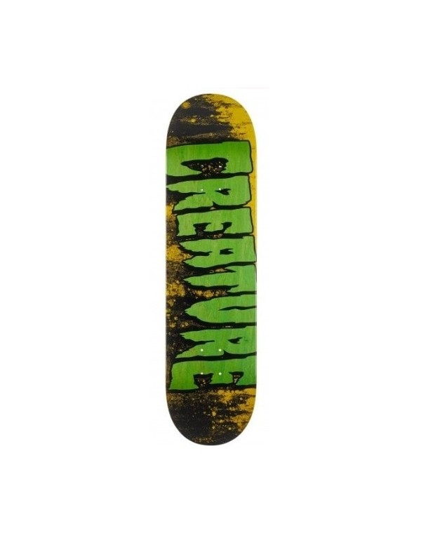"Skateboard Creature Logo Wash MD 8,25"" (solo tabla)"
