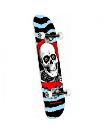"Skateboard Powell Peralta Ripper One Off Blue 8"" (Completo)"