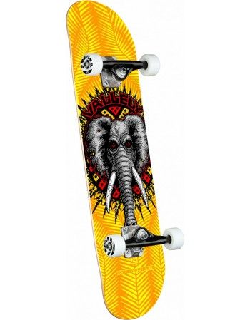 "Skateboard Powell Peralta Vallely Elephant Yellow 8"" (Completo)"