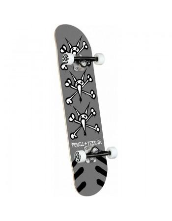 """Skateboard Powell Peralta Vato Rats Silver 8"""" (Completo)"""