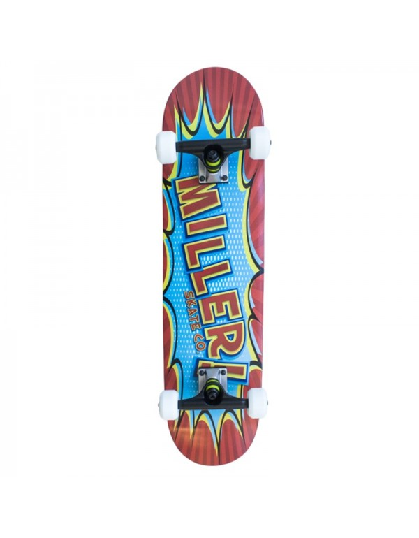 "Skateboard Miller Comic 7.75"" (Completo)"