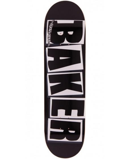 """Skateboard Baker Brand Logo Black 8,2"""" (Completo)"""