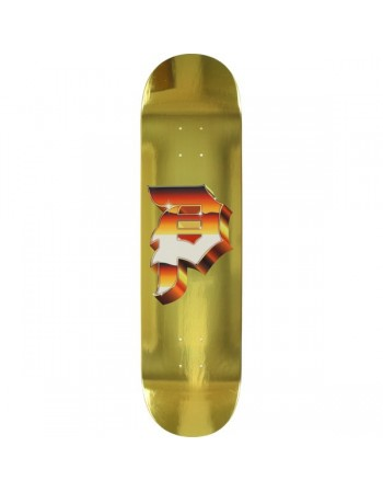 "Skateboard Primitive Heavy Gold Dirty 8.1"" (solo tabla)"